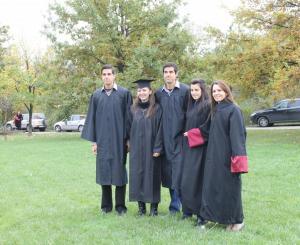 Връчване на дипломи на абсолвенти от Випуск 2014 в Лесотехническия университет