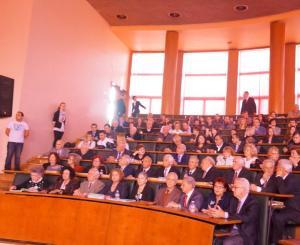 Гости на юбилея АУ и и бивши ректори