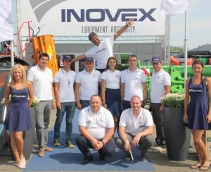 Екипът на Inovex на Бата Агро 2015