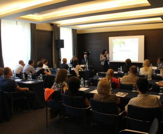 Срещата се проведе с участието на Жан-Филип Азоле - генерален директор на Европейската Асоциация за растителна защита (ЕСРА) и Юрос Джоунс -