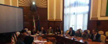 Министърът на земеделието и храните Васил Грудев се срещна с представители на браншови организации от сектор плодове и зеленчуци в МЗХ.