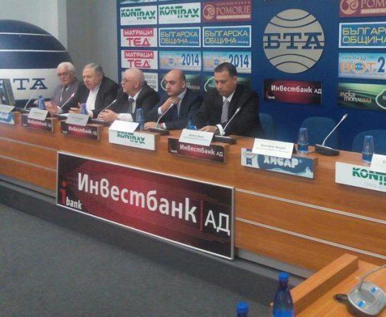 Зам. - министър Грудев връчи наградата на управителя на официалния вносител на New Holland за България