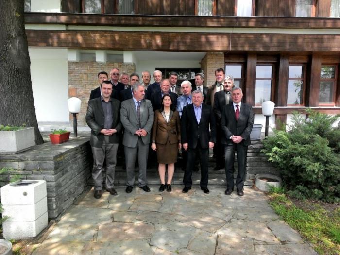 По време на срещата министър Греков обсъди развитието на горския сектор и предизвикателствата пред него.