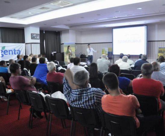 Акцент на срещата беше Топрекс – единственият фунгицид и растежен регулатор