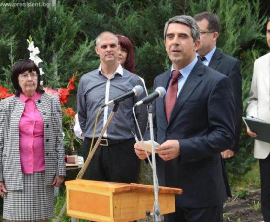 """Държавният глава беше гост на Института по растителни генетични ресурси """"Константин Малков"""" в града"""
