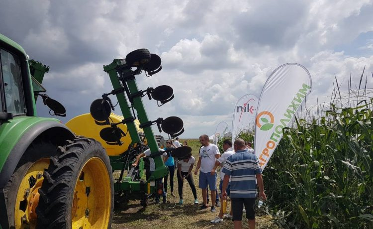 Перфектни резултати в царевица с торенето на АГРОПОЛИХИМ