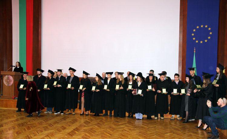 Тържествена промоция на студентите от Аграрен Университет, випуск 2018 СНИМКИ