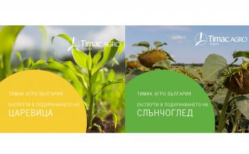Успешни технологии при царевица и слънчоглед