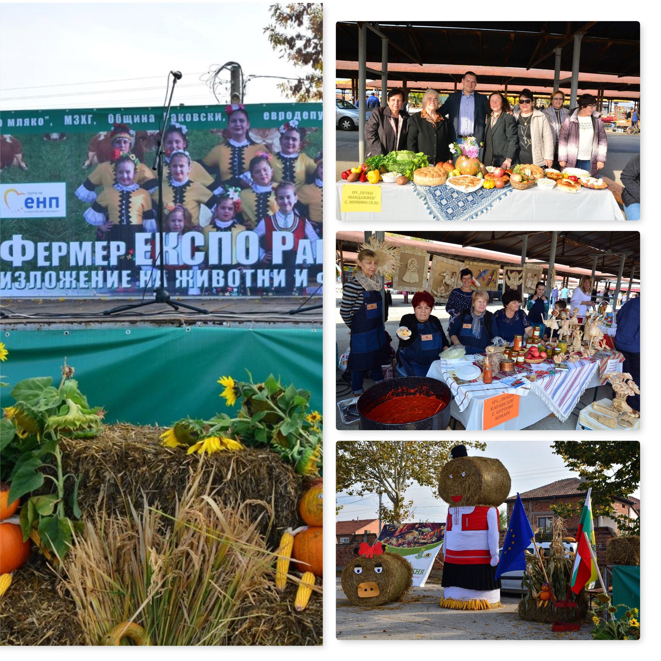 Фермер Експо Раковски 2019 - фермерски храни и елитни животни
